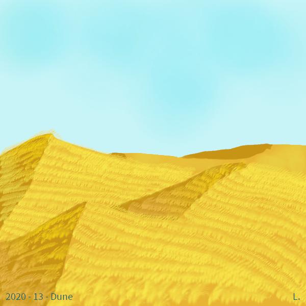 De grands champs de blé vallonnés sous un ciel bleu pâle.