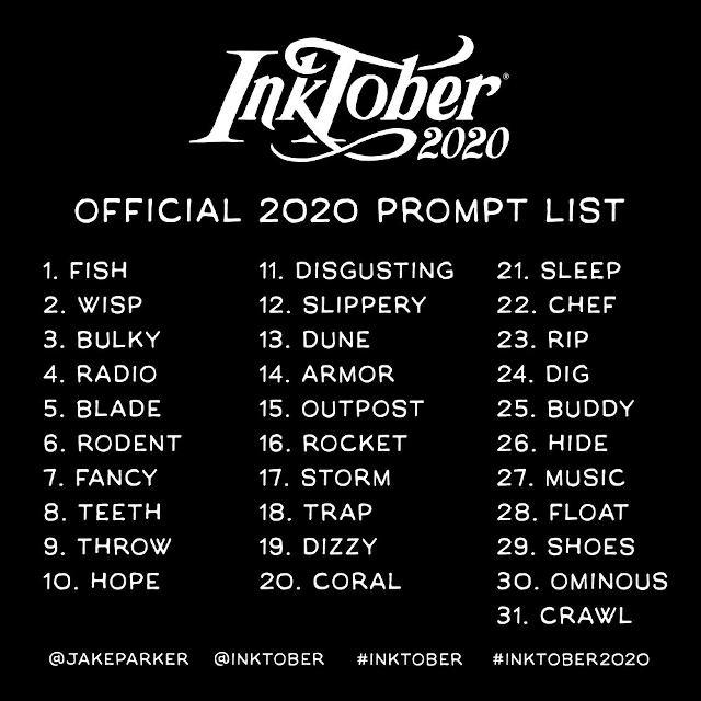 """La liste des """"prompts"""", ou amorces de 2020"""